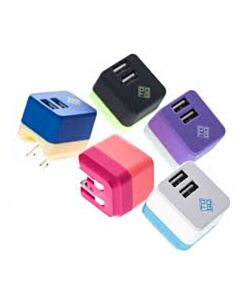 FOLDING USB CHARGER 2P 2.4A