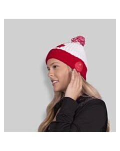 CASECO BLU-TOQUE RED MAPLE LEAF ON WHITE