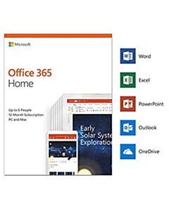 MICROSOFT OFFICE 365 HOME 6 USER PKC