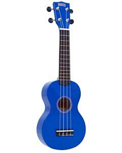 Mahalo Soprano Blue Ukulele w/Bag