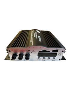 CDD 4x30w MINI AMP W/REMOTE, USB, MP3 MEDIA CARD SLOT, FM