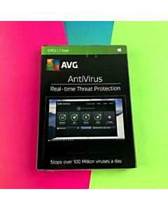 AVG Anitivirus 3-user 1YR