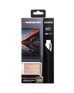 MONSTER PLATINUM 21 GBPS HDMI CABLE - 6 FT.