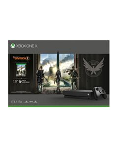 Xbox One X 1TB Tom Clancys The Division 2 Bundle