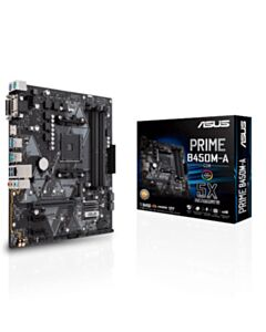 ASUS RYZEN 2 GEN AM4 PRIME B450M-A/CSM 64GB DDR4 PCIE MTX