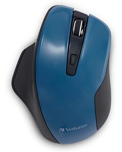 SILENT ERGO WRLS BLUE LED MOUSE DRK TEAL