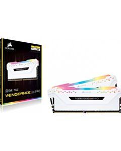 CORSAIR RGB PRO 16GB (2X8GB) DDR4 3200 WHITE