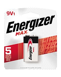 ENERGIZER MAX 9V BATTERY 1 PK