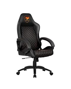 COUGAR FUSION BLACK GAMING/OFFICE CHAIR