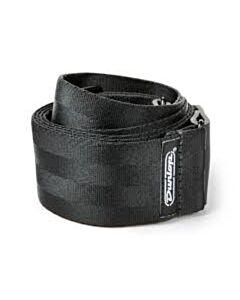 DUNLOP Guitar Deluxe Seatbelt Strap, Black