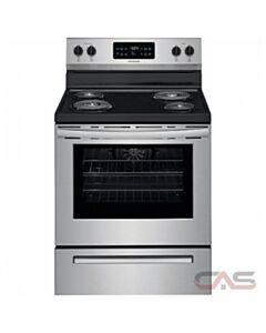Frigidaire 30'' Freestanding Electric Range (Stainless Steel)