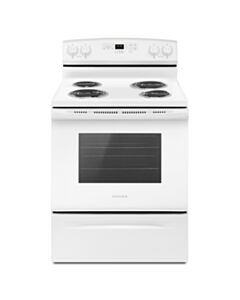 AMANA COIL TOP STOVE WITH SELF CLEAN