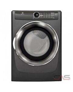 "Front Load Perfect Steam"" Electric Dryer with Instant Refresh and 8 cycles - 8.0 Cu. Ft."