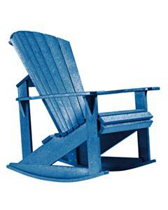 ADIRONDACK ROCKER:Blue