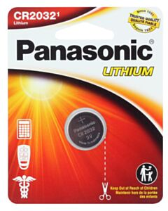 PANASONIC LITHIUM COIN BATTERY CR2032