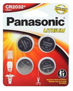 PANASONIC LITHIUM COIN BATTERY 2032PA/4BL