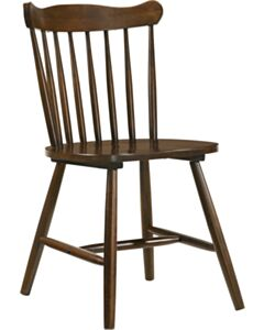 SOLID WOOD DINING CHAIR-WALNUT CHERRY