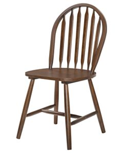 SOLID WOOD DINING ROOM CHAIR WALNUT