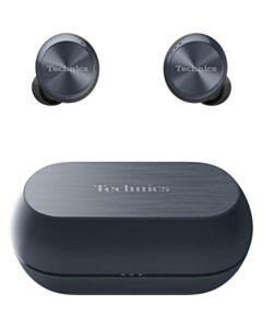 Technics True Wireless Headphones with Dual Hybrid Noise Cancelling Technology - Black