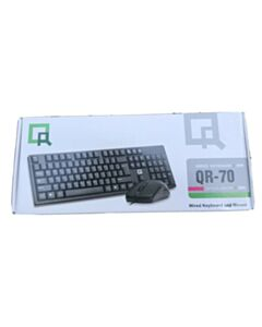 QR-70 WIRED KEYBOARD & MOUSE