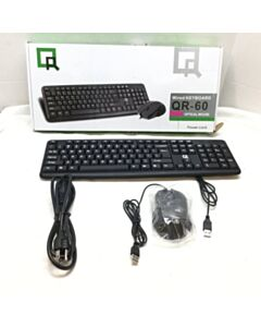 QR-60 WIRED KEYBOARD & MOUSE