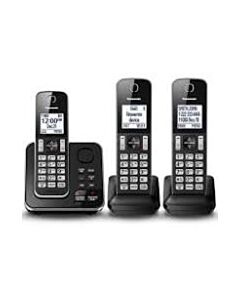 DIGITAL CORDLESS PHONE WITH 3 HANDSETS