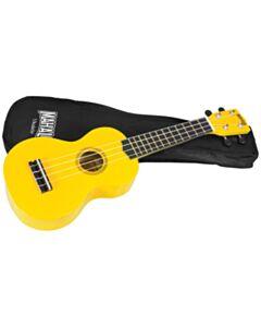 Mahalo Soprano Ukulele w/ Bag Rainbow Series -Yellow