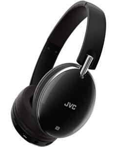 JVC HA-S90BN Bluetooth Wireless Headphones with Noise Cancel Function (Black)