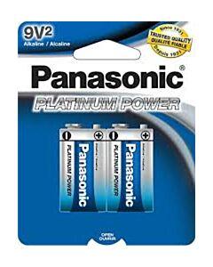 PANASONIC PLATINUM POWER EVOLTA 9V BATTERY
