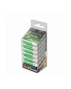 Techly AAA Super Alkaline Batteries - 24pk