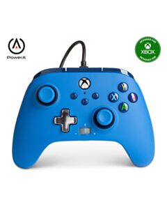 XBOX SERIES X ENHANCED WIRED CONTROLLER BLUE