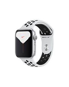 Apple Watch Nike Series 5 40mm Silver Aluminium Case with Pure Platinum/Black Nike Sport Band (GPS)