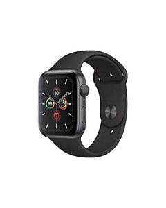 Apple Watch Series 5 (GPS+Cell) 44mm Space Grey Aluminum w/ Black Sport Band