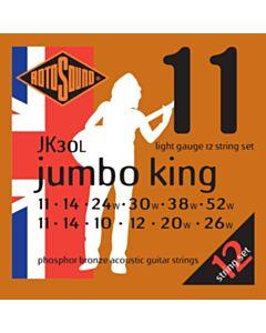 RS JUMBO KING P-B ACOUSTIC LIGHT 12 STRING 11-52
