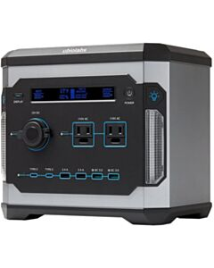 Ubio Labs 500Wh Portable Power Station, Rechargeable Lithium Battery Pack, Quiet Generator,