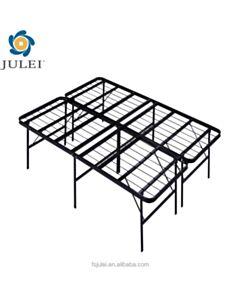 Queen metal bed base