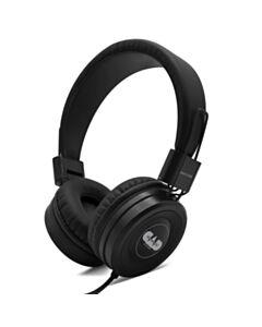Closed-back studio headphones