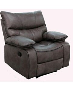 FLAIR PEYTO RECLINER GLIDER CHAIR-CHARCOAL