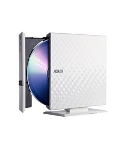 ASUS 8X DVD-RW SLIM EXTERNAL WHITE DIAMOND