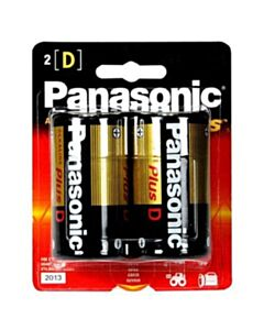 PANASONIC D BATTERY