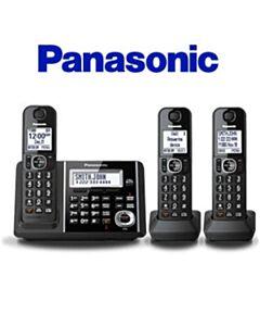 PANASONIC PHONE DUAL KEY, 3 HANDSET 2015