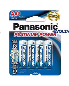 PANASONIC AA BATTERIES 8 PACK